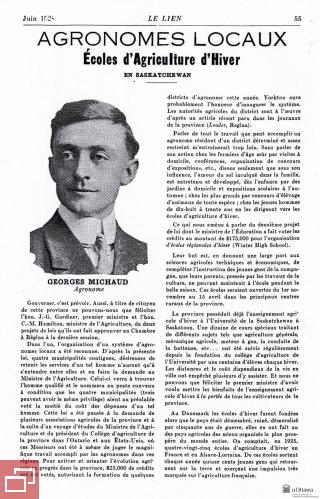 Article de Georges É. Michaud